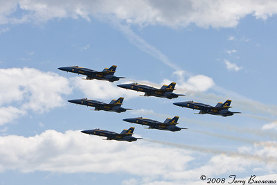 Jones Beach Airshow 2008 - Featuring US Navy Blue Angels