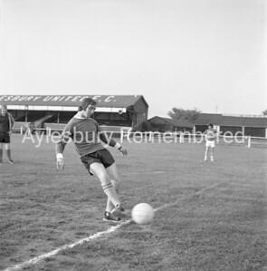 Aylesbury Utd training, July 30th 1973
