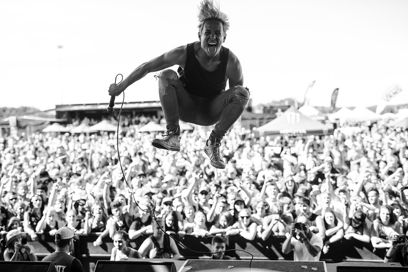 Telle Smith In Shakopee, MN on Vans Warped Tour 2016