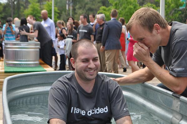Baptism - April 2013 - Second Service - LEFT Baptism tank