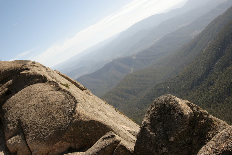 This is the view from The Back Wall at Mount Buffalo.