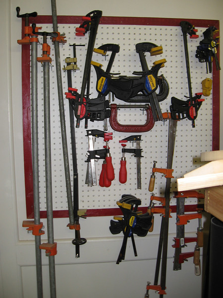A few clamps