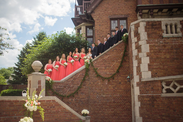 Bridal Party Steps