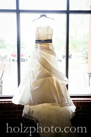 Chanda & Brent Color Wedding Photos