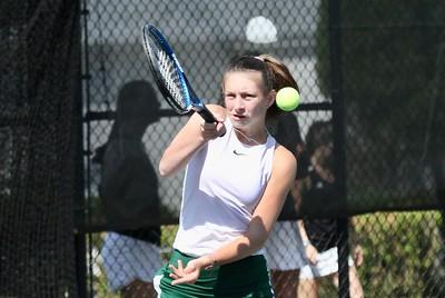 Girls Varsity Tennis vs Montpelier photos by Gary Baker