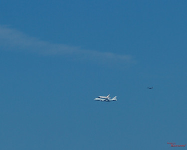 Shuttle Endeavor Santa Cruz Mountains