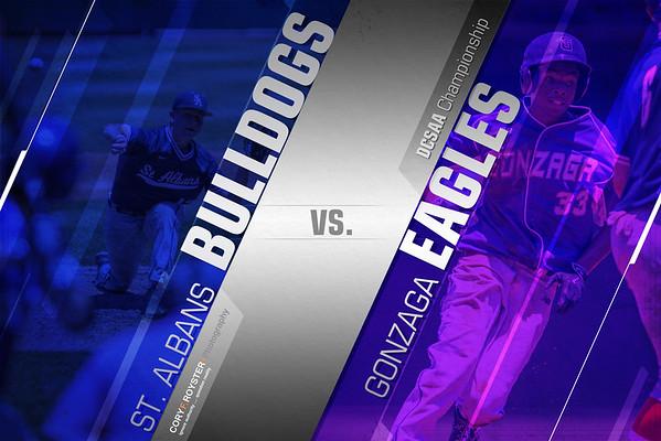 Gonzaga vs St. Albans DCSAA Title game
