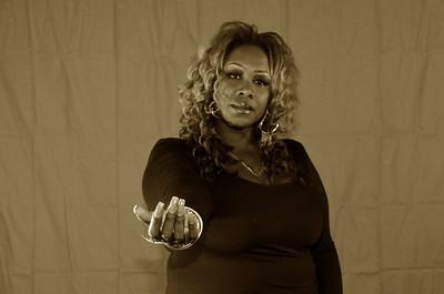 Model Melinda Baker