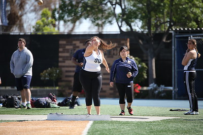 Track and Field - Loyola 3/16/17