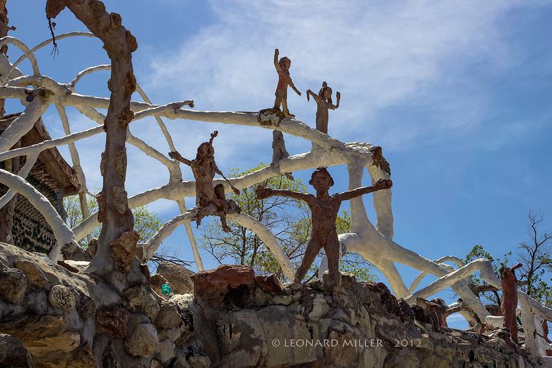 Thunder Mountain Park - House Sculpture - Imlay, Nevada