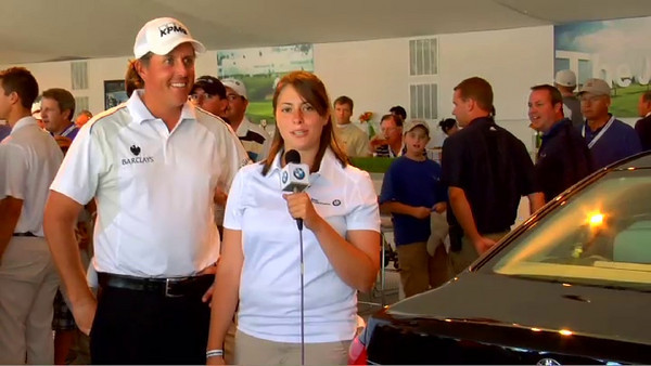 Jessica Dillard interviews Phil Mickelson on what it feels like to support the Evans Scholars Foundation.