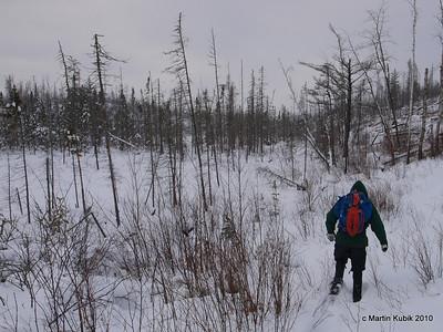 Kekekabic Trail Winter Trail Clearing 12/10/2010