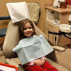 Dentist Visit - Emma & Jaina - Feb 9, 2009