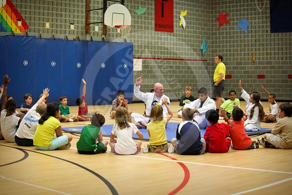 Jiu Jitsu Demo: Forestville Elementary School