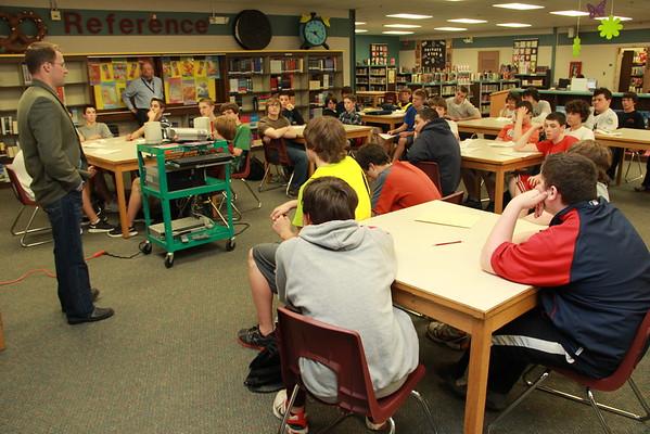 TRMS 8th Grade Career Day