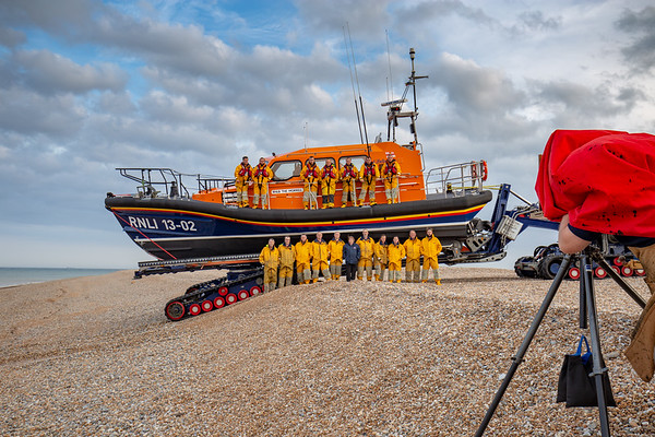Dungeness Lifeboat Shoot