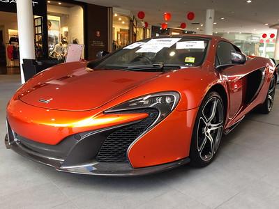 McLaren 650s Supercar - Deaf Lottery