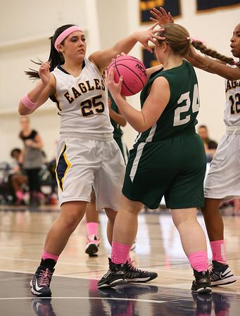 AACS Girls vs Glenelg Country School -  2/1/13