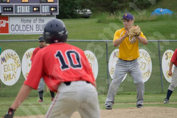 Baseball: Penquis at Bucksport 6/11