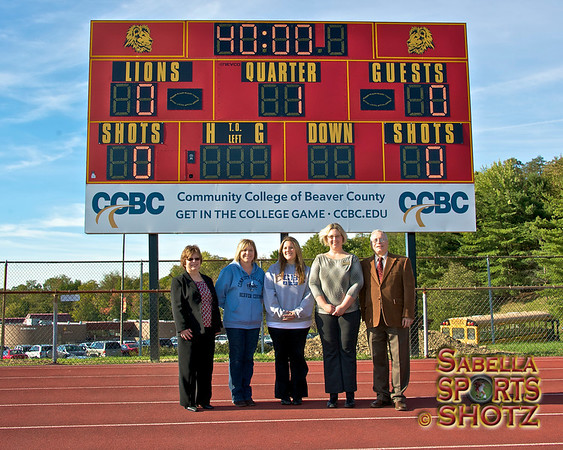 9.24.12 - NBASD/CCBC Scoreboard Dedication Ceremony