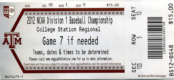TicketStubs