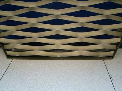 Imar Expanded Aluminium Mesh Welded into Frame (Samples)