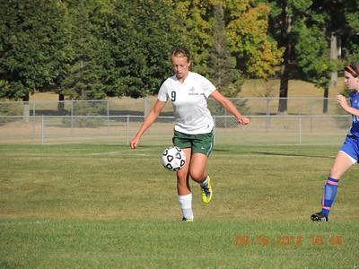 Warriors Girls Soccer vs Trinity   9-17-12