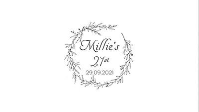 09.10 Millie's 21st