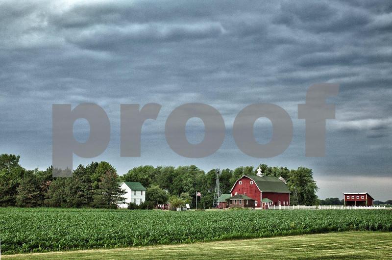 The history of farming is replicated at Farm America near Mankato, MN.