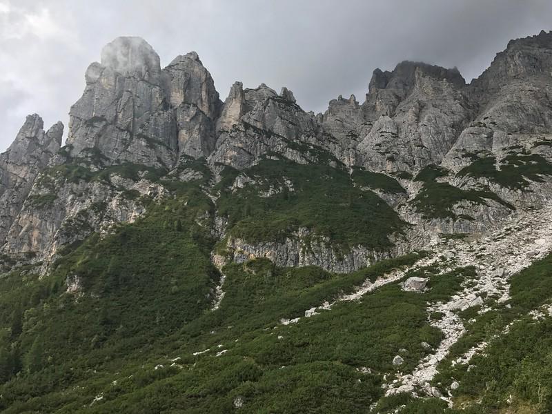 Rifugio Tissi to Rifugio Carestiato