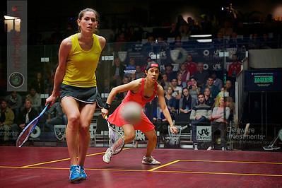2012 U.S. Open Women's Semifinal: Nicol David (Malaysia) defeated Joelle King (New Zealand)