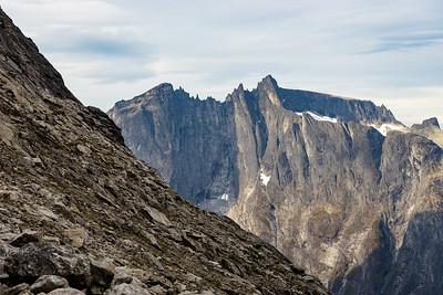Trollveggen from Venjetind