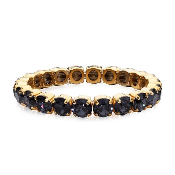 Gia Stretch Bracelet  / Graphite