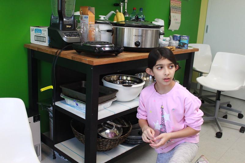 a girl behind enemy lines stealing food