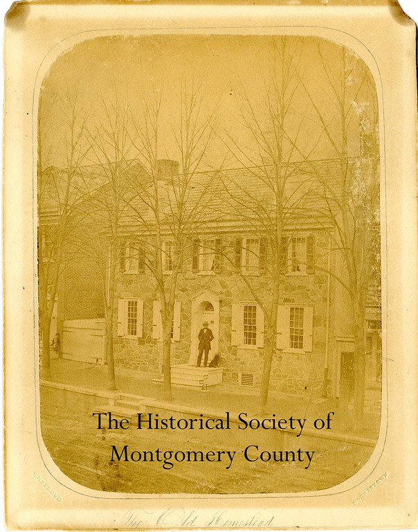 . This undated photo from the Historical Society of Montgomery County shows the Samuel Jamison house on East Main Street in Norristown.