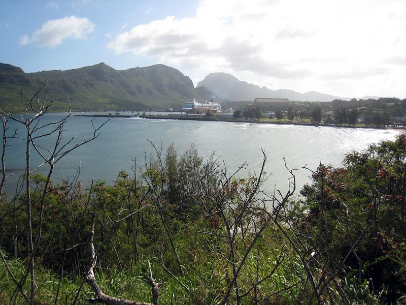 Docked in Nawiliwili, Kauai
