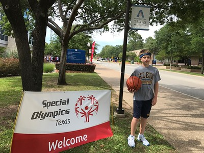 2017  Special Olympics basketball