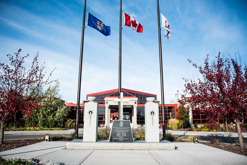 Leduc Civic Centre Cenotaph
