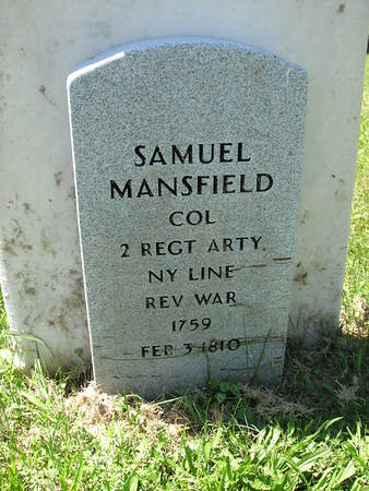 ( Moses ) Samuel Mansfield Grave