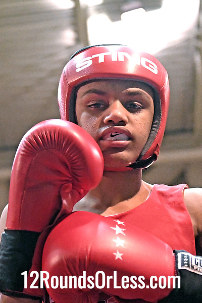 Bout 19 Denton Yates, Blue Gloves, Soul City, Toledo -vs- Tyler Duncan, Red Gloves, Rodriguez BC, Akron, 106 Lbs, 14-15 Yrs