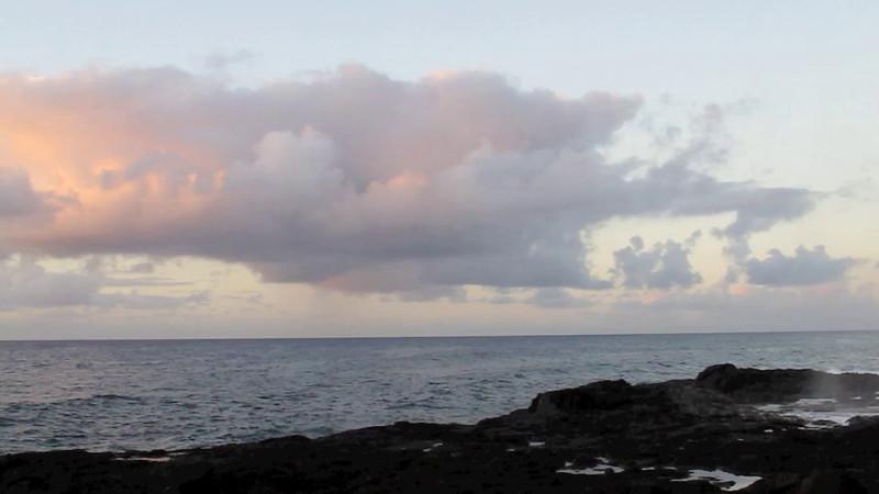 Spouting Horn Sunrise - 9 December 2011