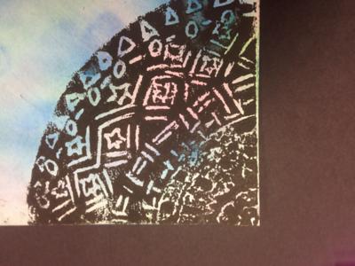 Printmaking Art Show a K-12 Project
