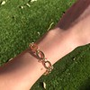 Vintage Yellow Gold Bracelet, 18kt 5