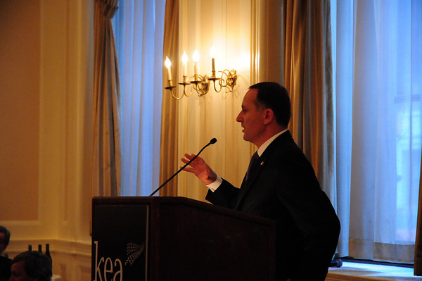 Lunch with Prime Minister John Key