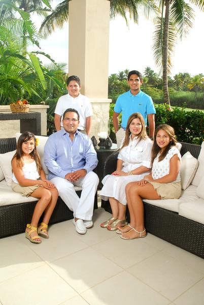 Bahia Beach portrait familia verandas
