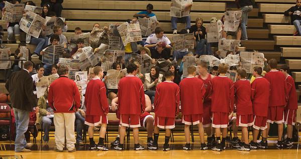 Boys Varsity Basketball vs. Troy