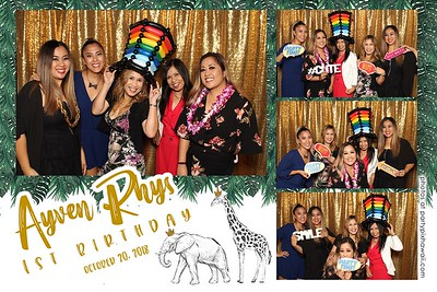 Ayven Rhys'' 1st Birthday (Mini Open Air Photo Booth 2)
