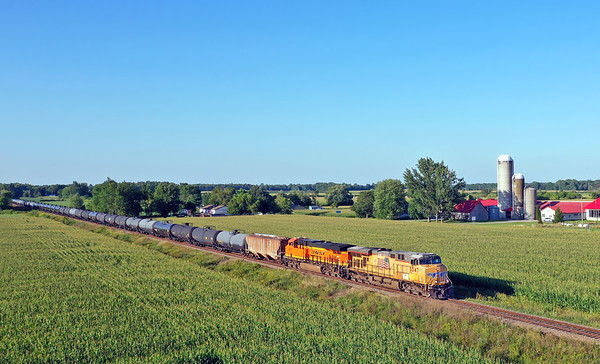 Canadian Pacific 652, Lacolle, Quebec, August 20 2019.