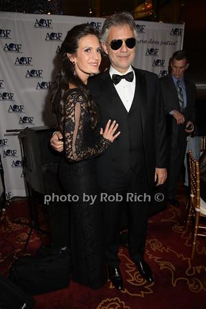 Veronica Berti and  husband Andrea Bocelli   photo by Rob Rich/SocietyAllure.com © 2014 robwayne1@aol.com 516-676-3939