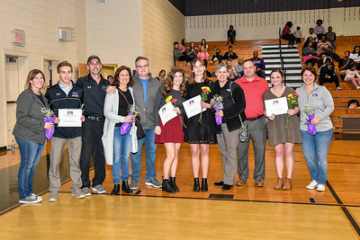2018-2019 Winter Sports Senior Night
